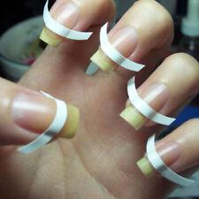 480 pcs French Manicure Nail Art Tips Form Guide Sticker Polish DIY Stencil LN
