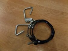 """Bowflex 43"""" Rod Box Cables with Hooks ( 2 Cables ) Power Pro, Sport Ultimate 1"""