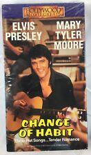 """Change Of Habit"" Elvis Presley Movie (VHS 1969) Mary Tyler Moore - Romance"