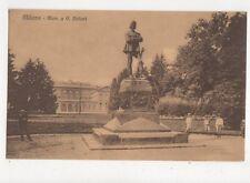 Milano Mon. a G Sirtori Vintage Postcard Italy 441a