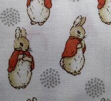 """oficial"" Peter Rabbit Beatrix Potter Tela de Algodón de 100 ℅ Vendido por metros"