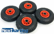 New Trolley Wheel Pneumatic / Go Kart x4 / Nextkarting Kart Shop