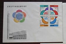 EAST GERMANY DDR GDR scott 617-20 michel 901-04 BLOCK ON UNUSED COVER