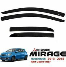 Car Rain Visor Mitsubishi Mirage Hatchback