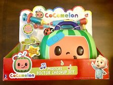COCOMELON Musical DOCTOR CHECKUP SET CASE 4 PLAY PIECES New