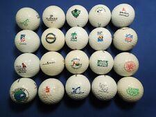 Mixed Lot of Golf Balls - Nfl, Bacardi, Johnnie Walker, Golf Clubs, Courses etc