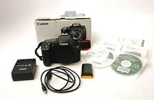 Canon EOS 7D 18.0MP Digital Camera Body Used Excellent Condition 15,500 Shot Ct.