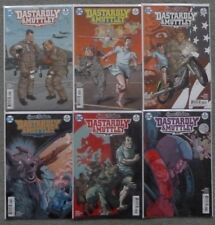 DASTARDLY & MUTTLEY #1-6 SET..GARTH ENNIS..DC 2017 1ST PRINT..VFN+..WACKY RACES