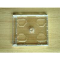 1PCs New Standard Clear 2 Disc CD Jewel Case Hold CD+DVD/2CD