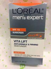 L'Oreal Men's Expert Vita Lift Anti-Wrinkle and Firming Moisturizer 1.60 oz SPF
