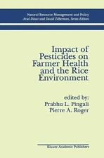 Impact of Pesticides on Farmer Health and the Rice Environment (Natural Resource