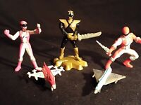 POWER RANGERS LOT ACTION FIGURES AND PLANES *AWESOME LOT