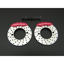 Hot Racing SCXT21R02 Aluminum Scale Disc Brakes (read desc!) Axial AR44 SCX10 II