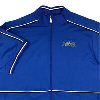 VTG Nike Air Flight Revolution Premier Full Zip Shooting Shirt Mens 4XL