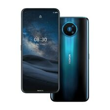 Nokia 8.3 5G Dual-SIM 128 GB blau Smartphone Handy (Sehr gut)