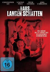 Das Haus der langen Schatten [DVD/NEU/OVP] Christopher Lee, Peter Cushing, Vince