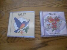 Embroidery Card - Brother Angels and Cherubs #38, with 21 Designs , #27 Birds