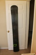 New listing Prior~Carving~Snowboard~WRCM 187W #16101~Richard Prouty~Used~Black