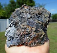 Shiny GALENA with Pyrite & Sphalerite Self Standing Display Crystal Specimen
