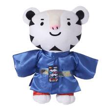 Winter Olympics 2018 Pyeongchang Korea Soohorang Mascot Hanbok Doll Limited