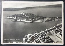 SIRACUSA  - VEDUTA  AEREA  PORTO - 1953