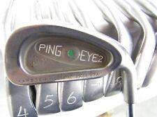 Ping Eye 2 (3-W) Green Dot Iron Set ZZ Lite Stiff Flex Steel RH Used