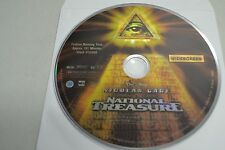 National Treasure (DVD, 2005, Widescreen)Disc Only Free Shipping