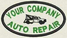 """Auto Repair Patch, Tag, Label forUniform - Add your company Name 4.25"""" x 2.50"""""""