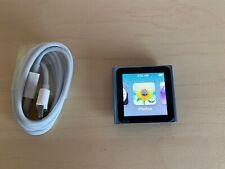 Apple iPod Nano 6. generación 8gb azul