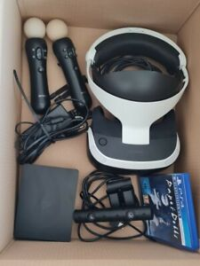 VR brille PS4 + PS4 Kamera + 2 Move Controller +PS4 VR Spiel ( Paper Doll )