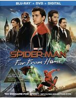 Spider-Man: Far From Home [2019] Blu-ray+DVD+Digital with Slipcover; Marvel