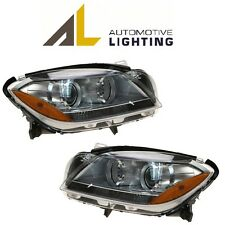 Mercedes W166 ML350 ML63 AMG Pair Set of 2 Halogen Headlight Assemblies OEM AL