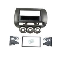 1 Or 2 Din Radio Fascia for Honda Jazz Stereo Panel Dash Mount Trim Kit Frame
