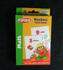 Playskool Mr Potato Head Jumbo Flash Cards Numbers Preschool Teacher Resource