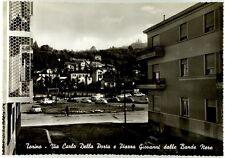 Cartolina Torino - Via Carlo Della Porta E Piazza Giovanni Dalle Bande Nere N