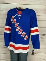 Adidas Men's New York Rangers adidas Royal Home Authentic Blank Jersey
