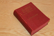 Vintage 1936 Dorland Illustrated Medical Dictionary 17th Edition