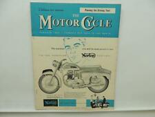 November 1959 THE MOTORCYCLE Magazine Norton Roadholder Trial BSA L8090