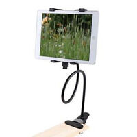 Gooseneck 360 Lazy Bed Desk Stand Holder Mount For iPad 2 3 4 Air Mini Tablet *F