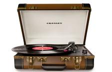 Crosley Executive Portable USB Turntable, Vinyl Record Music Player W Software