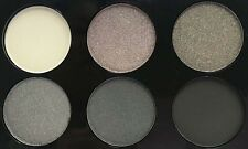 LAVAL BEAUTIFUL 6-SHADE EYESHADOW PALETTE GREY LARGE 9G NEW SEALED