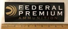 Federal Premium Ammunition Decal Bumper Sticker Zip Strips Removable Gun Hunting