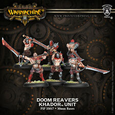 Warmachine BNIB-Khador Doom Reavers (6)