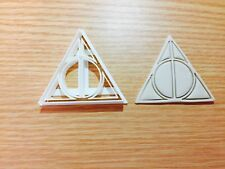 The Deathly Hallows Harry potter-inspired Cookie Cutter Fondant Cake Decorating