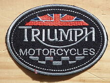 ECUSSON PATCH THERMOCOLLANT aufnaher toppa TRIUMPH motorcycles trident rocket 3