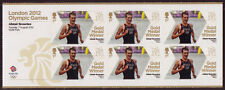 GREAT BRITAIN LONDON 2012 ALI. BROWNLEE TRIATHLON MINIATUR SHEET UM.MNH OLYMPICS