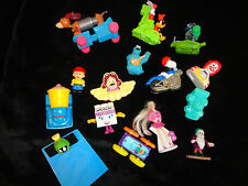 MISC MCDONALDS TOY LOT 15 ITEMS TOY STORY BARBIE SNOOPY COOKIE MONSTOR