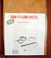 3 CORK SHEET PACKS ( 2 SHEETS PER PACK)