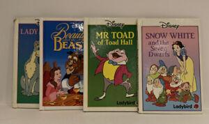 Disney Ladybird Books X4