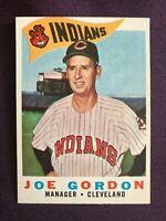 1960 Topps Joe Gordon Cleveland Indians #216 Baseball Card